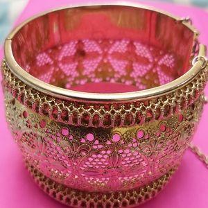 Whiting & Davis golden bracelet **VINTAGE & RARE